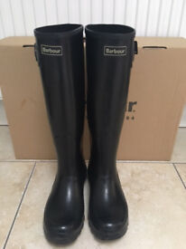 Woman's Barbour Wellie Boots - size 3