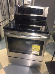 6.3 cu.ft Electric Range with EasyClean® and True Convection