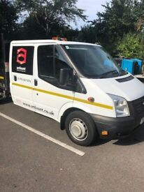 2014 FORD TRANSIT T350 DROPSIDE TIPPER - EXCELLENT CONDITION - LOW MILEAGE