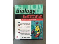 biology demystified book