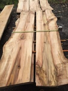 Live Edge Maple Slabs Custom Sizes And Builds Available!