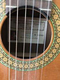 Manuel Rodriguez C3 classical guitar made in Spain