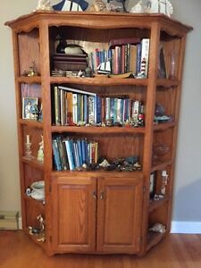 Hand crafted bookcase