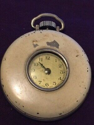 Ingersoll Cord Pocket Watch for Parts or Restoration Not Working.-C106