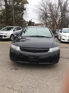 2008 Honda Civic Sdn LX fully loaded certified