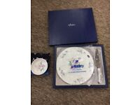 Aynsley Little Sweetheart china cake plate, cake slice and coaster. Perfect condition