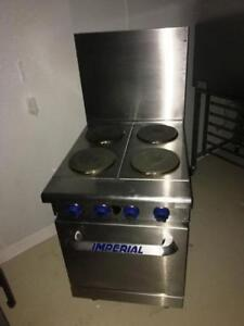 Imperial 4 burner electric oven -