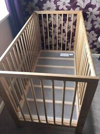 Ikea 'Gullivar' cot and sprung matress