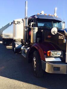 2005 Peter bilt truck 14.6/46 & 2009 Star Gate End dump trailer