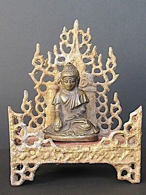 Autel and Buddha Bronze, Burma
