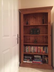 REDUCED QUICK SALE Solid wood handmade bookcase - PERFECT condition