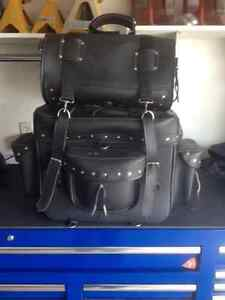 Harley Davidson Saddlebag guard bag and luggage