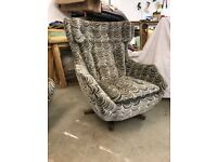 Parker Knoll STATESMEN SOFA and ARMCHAIR. NEWLY REFURBISHED