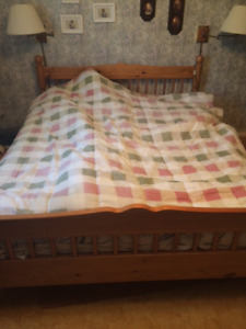 Moving Sale: Bed