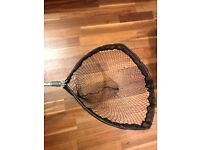 FISHING NET LARGE ADJUSTABLE LENGTH TILT HEAD WELL USED