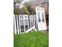 Used upvc porch in exelent condition new style