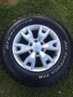 Ford Ranger PX Inch Alloys & Tyres