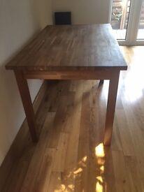 NATURAL OAK KITCHEN TABLE IKEA/ L 113 CM,W 75 CM.PERFECT CONDITION
