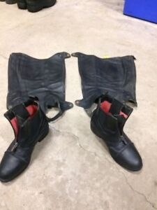 Riding Boots and Half Chaps