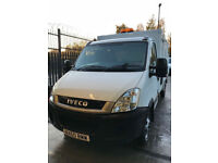 2010/ 60 Iveco Daily 50c14 Refuge Tipper Caged Body+ Tail Lift Low Mileage DRW