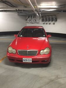 URGENT SALE 2003 Mercedes-Benz C240 selling AS IS