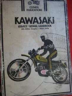 KAWASAKI 80 TO 450cc WORKSHOP MANUALS C1966-1976 Dianella Stirling Area Preview