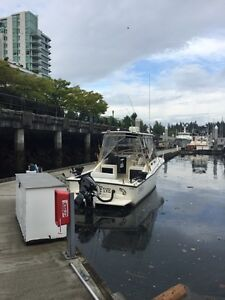 Downtown Vancouver boat moorage up to 49 feet