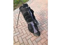 Golf Clubs and bag - intech