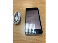 Iphone 5s Mobile Phone 16GB silver grey - Excellent Condition