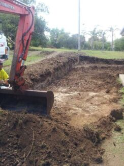 Excavations, retaining walls, stormwater & electrical trenches