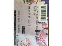 1x bestival ticket