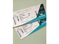 x 2 Tickets David Sedaris Manchester Lowry 10th September 2017 - Great seats