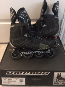 Brand new in box MISSION Roller Blades