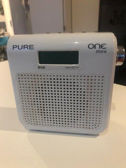 PURE ONE mini white DAB radio (no power cord) | in Manchester City Centre,  Manchester | Gumtree