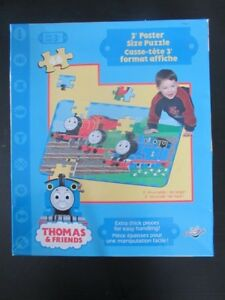 3 Ft X 3ft THOMAS And FRIENDS FLOOR PUZZLE