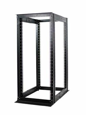 """New 27U 4 Post Open Frame Data Network Server Rack Enclosure19"""" Adjustable Depth"""