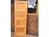 4 Panel Oak Veneer Shaker Internal Door