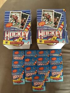 Carte de hockey O-Pee-Chee 1991-92 /Hockey Trading cards