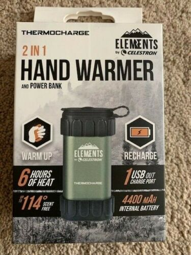 Celestron 48012 Elements Thermo Charge Hand Warmer & Power Pack