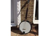 Tanglewood Union Series TB18MG Maple 5 String Banjo