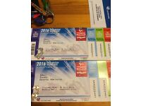 4 Tickets and parking for Motogp race day, Silverstone