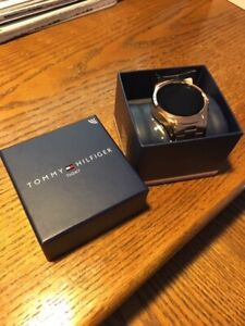 TOMMY HILFIGER TH24/7 SMARTWATCH 44MM ROSE GOLD BOXED $129