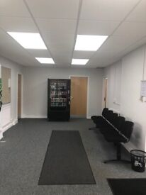 INCLUSIVE OFFICE SPACE TO LET (EASY IN/OUT TERMS)