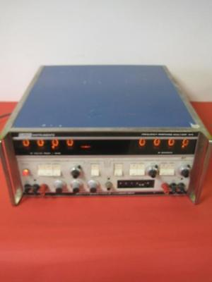 Emr Schlumberger Co. Frequency Response Analyzer Model 1410 Rare Used Works
