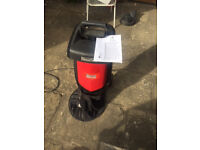 Mountfield 2200W Chipper - Excellent Condition