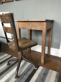 Vintage desk and chair (child)