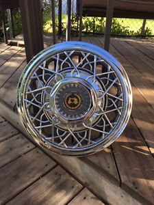 Chrome Spoke Wheel Covers