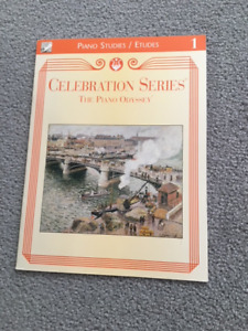 Celebration Series The Piano Odyssey Piano Studies Book