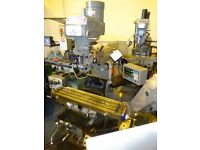 XYZ 1500 TURRET MILLING MACHINE