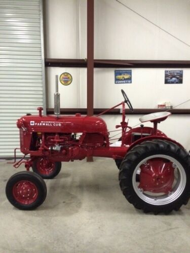 1953 International Cub Farmall Tractor